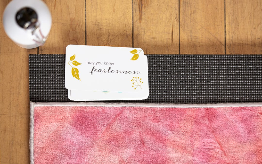 May You Know Card & Yoga Mat